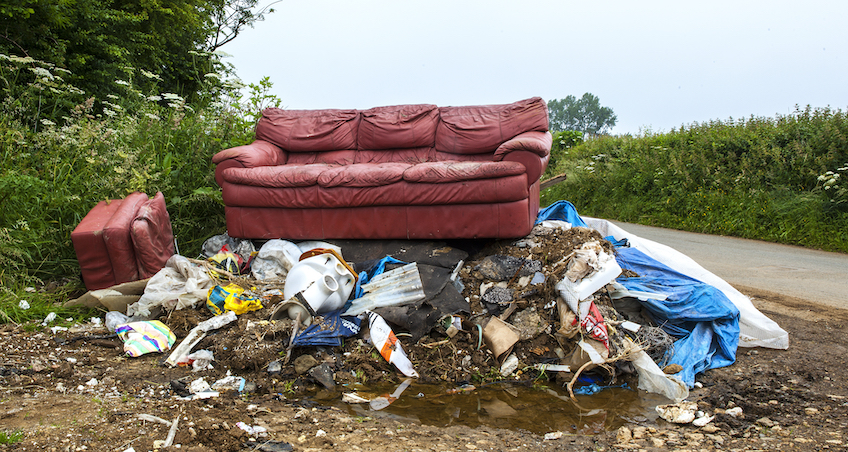Fly tipping who is liable